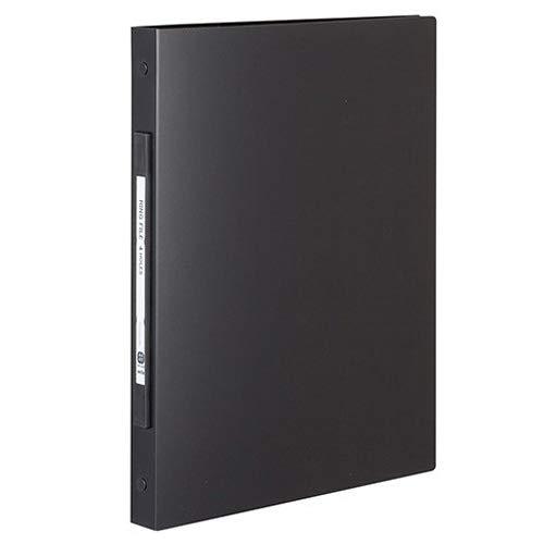 [해외](대량 구매) セキセイ 그 랑 반지 파일 A4 4 다크 블랙 GRN-5604-60 【 정리 구매 3 개 세트 】 / (collectively buy) Sekisui Grand Ring file A4 4-hole Black GRN-5604-60 [three books to buy collectively set]
