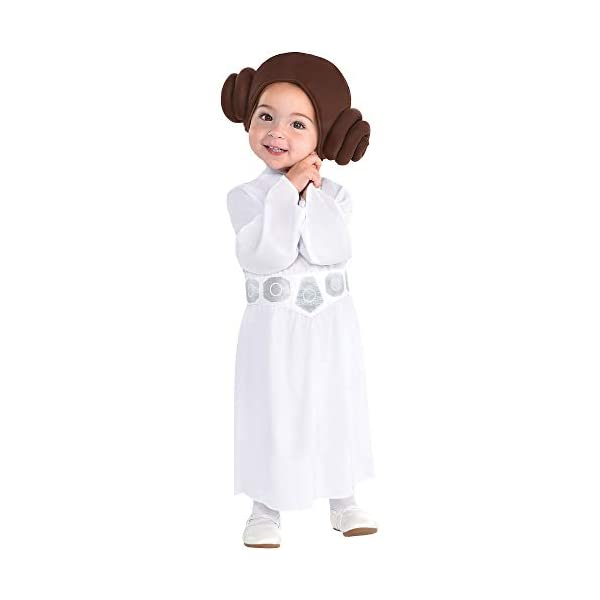 Party-City-Princess-Leia-Halloween-Costume-for-Babies-Star-Wars-Includes-Accessories