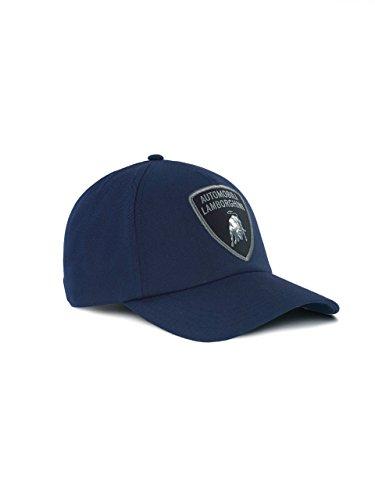 Lamborghini Big Shield Cap Navy Blue