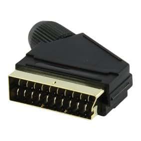 Ironcables - Conector Scart 21 pin macho