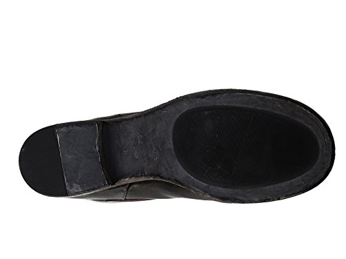 VIC MATIÉ Damen 1H6850D728B7E Schwarz Leder Stiefeletten