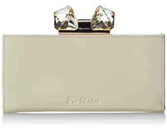Ted Baker Harty Crystal Bow Matinee Wallet,Pale Yellow,One Size