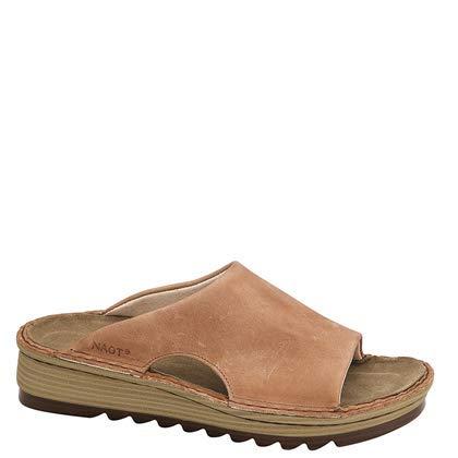 NAOT Footwear Women's Ardisia Sandals Latte Brown Leather 11 M -