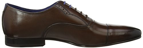 Ted Baker Mr Murain Derbys, Nero Marrone (marrone)