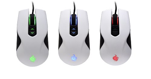 7cbe7c42f30 Amazon.com: CM Storm Recon - Ambidextrous 4000 DPI Gaming Mouse with  Multicolor LEDs for Left and Right Handed Users (White): Computers &  Accessories