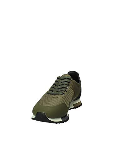 Shoes Sneakers Blauer Uomo 8fdetroit01 Verde mes dqdzU6Rw