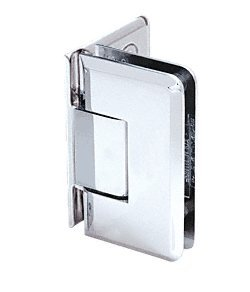 CRL Chrome Cologne 044 Series Wall Mount Offset Back Plate Hinge