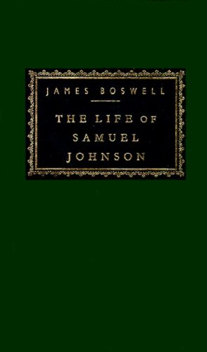 The Life of Samuel Johnson (Everyman's Library)