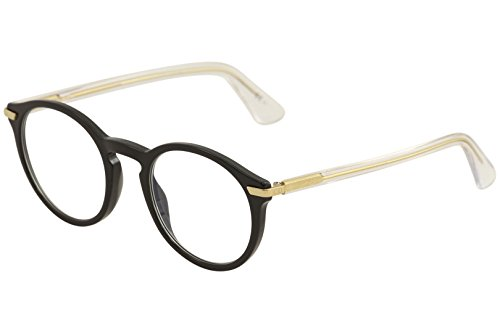 Christian Dior Eyeglasses Women's Essence 5 7CS Black/Crystal Optical Frame - Christian Dior Frames Glasses