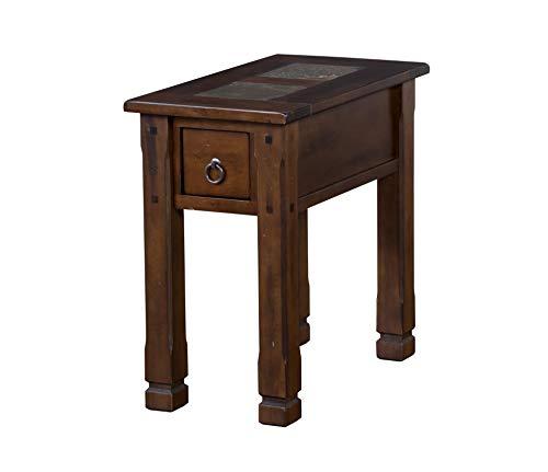 Sunny Designs 3143DC-CS Santa Fe Chair Side Table