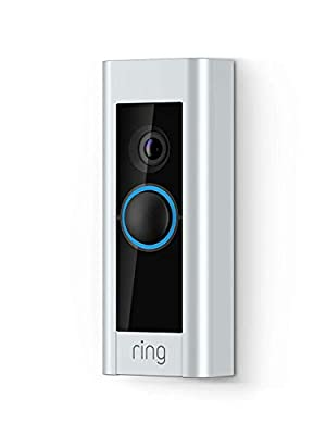 Ring Floodlight Security Camera - Hardwired Ultra-Bright LED Floodlights Siren