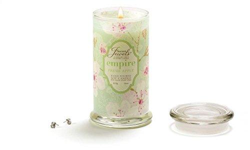 Secret Jewels Candle Jar, 16-Ounce, Empire Fresh Apple
