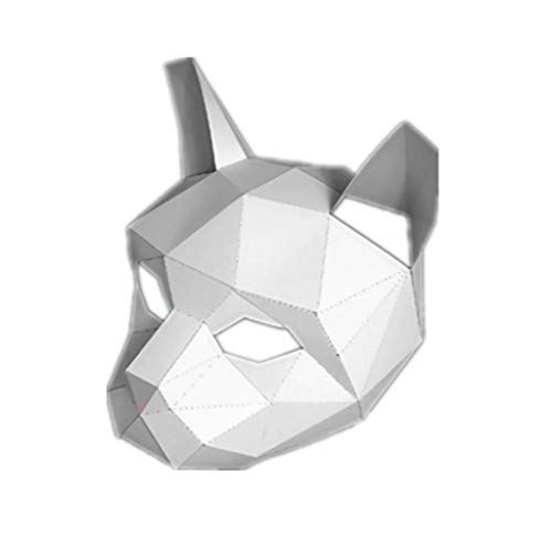 Gmgod❤️❤️Handmade DIY Free Cut 3D Stereo Animal Mask