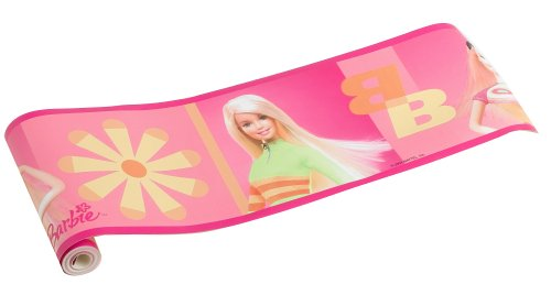 Barbie Wallpaper Border - Barbie Malibu Border