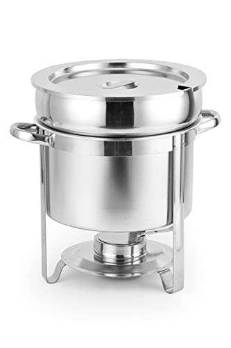 ChefMaid Stainless Steel Soup Warmer, 7-Quart Soup - Quart Soup 7 Warmer