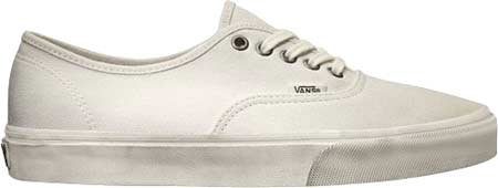 Vans Mens Overwashed Authentic Sneaker Overwashed Blanc De Blanc