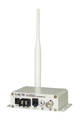 COP Security 15-5800VHT-1 5.8GHz 1W High Power Video + Audio Transmitter with Alarm