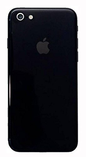 more photos f07c2 4a1c2 GADGETS WRAP Apple iPhone 6 Plus Jet Black Back Skin: Amazon.in ...