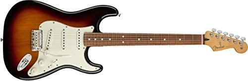 Fender Player Stratocaster Electric Guitar – Pau Ferro Fingerboard – 3 Color Sunburst