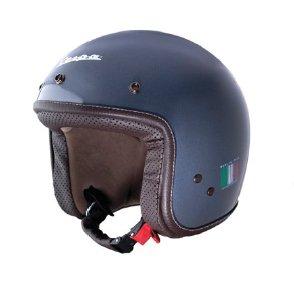 Piaggio – Casco Vespa P-Xential, color gris, talla M (casco