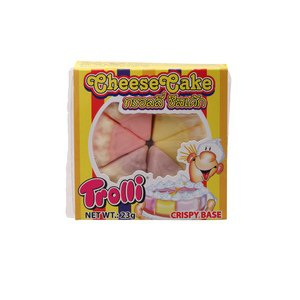 Trolli Cheesecake Jelly 23g. 3pack carrier to shipping international usps, ups, fedex, dhl, 14-28 Day By Dragon Shopping Thank You