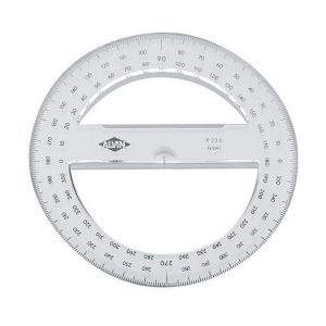 12 PACK PROTRACTOR CIRCULAR 4 INCH Drafting, Engineering, Art (General Catalog) by Alvin (Image #1)