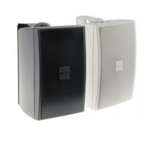Bosch LB2-UC30-D1 Premium Sound Cabinet Loudspeaker, 30 W Rated Power, 100Hz-18.5kHz Frequency, 8/163/333 Ohms, 105/90 dB SPL, Single, Charcoal