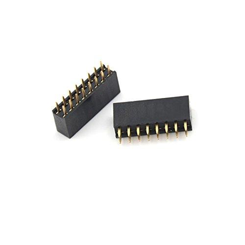 Shareprofit 1pc 2x8 16 Pins 2.54mm Double Row Female Straight Header Pitch Socket strip