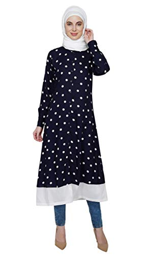 Dotted Vintage Dress By Ruqsar
