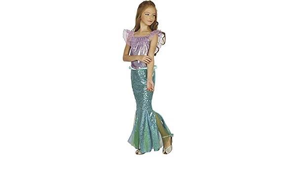 JUGUETILANDIA Disfraz Sirenita Niña Talla L: Amazon.es: Juguetes y ...