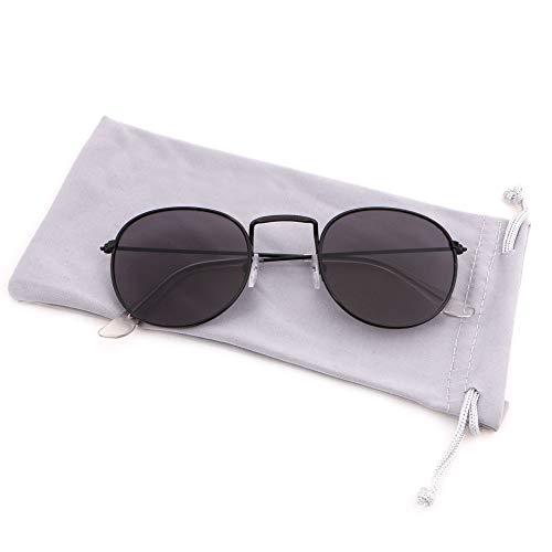 Black Lens de Gafas Frame para mujer Creamily Gray sol XnpFxwqC7B