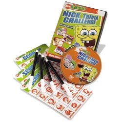 Nickelodeon Trivia Challenge DVD Game by Imagination Entertainment