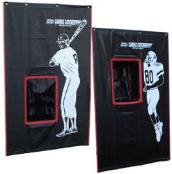 Cimarron Outdoor Sports Gaming Accessories 2-Sport Catcher Vinyl Backstop by Cimarron
