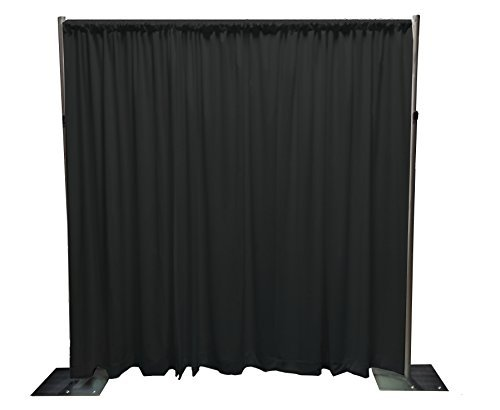 OnlineEEI Blackout Umbra Pipe & Drape Backdrop Kit by OnlineEEI