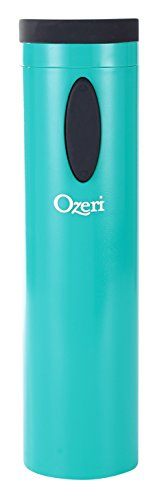 Ozeri OW08A-T Fascina Electric Wine Bottle Opener and Corkscrew, Teal Blue
