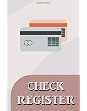 Check Register: 100 pages to record your banking transactions | Debit Card Ledger | 6 x 9 Checkbook ledger