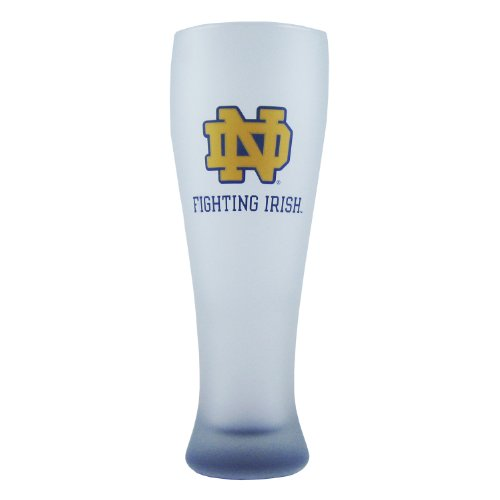 ncaa-notre-dame-fighting-irish-frosted-pilsner-glass-with-bottom-spray-23-ounce