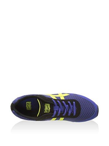 Onitsuka Tiger Curreo, Zapatillas de Running Unisex Adulto Azul Oscuro / Lima