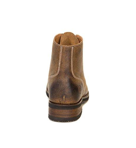 Ranch Road Boots Heren Boondocker Vintage Bruin Militair Veterschoenen Goodyear Welted Boot