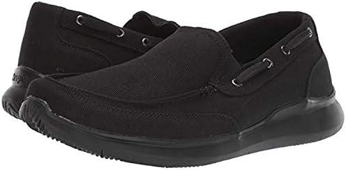 [プロペット] メンズスリッポン・ボートシューズ・靴 Viasol Black 28cm M (D) [並行輸入品]