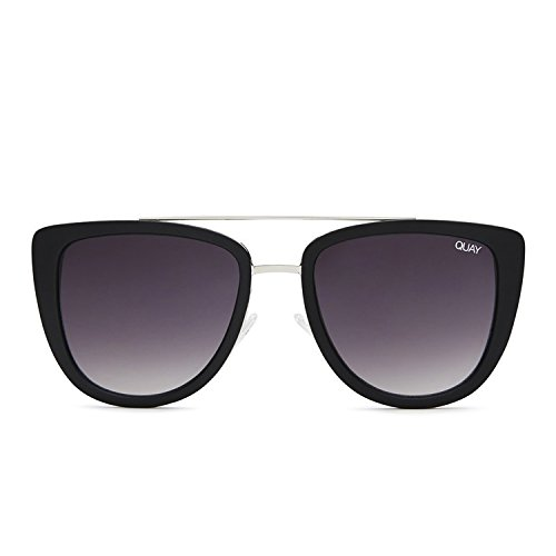 Quay Australia FRENCH KISS Women's Sunglasses Oversized All Occasions - - Blk Australia
