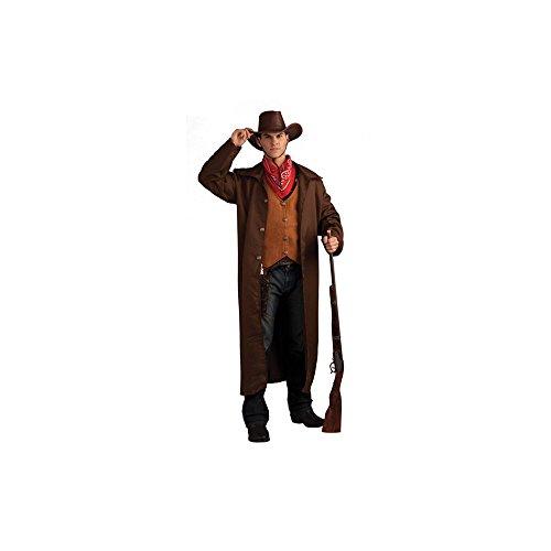 Gunfighter Costume - X-Large - Chest Size 42-48 (Wyatt Earp Costume)