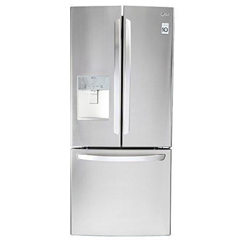 LG Refrigerador French Door, color Plata, 22 Pies Cúbicos