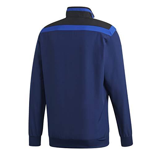 black Homme Adidas Jkt white Blue Veste Dark Tiro19 Pre q7Fw81
