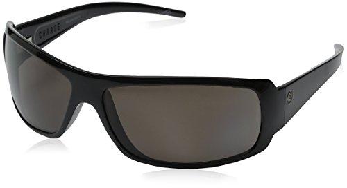 Electric Visual Charge Gloss Black Polarized Glass Sunglasses