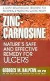 Zinc-Carnosine, Georges M. Halpern, 0757002749