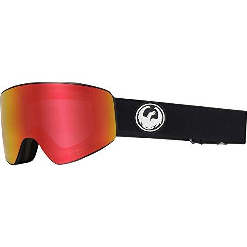 Dragon 38280 002 Black PXV Visor Goggles Lens Category 3 Lens Mirrored Size 65m
