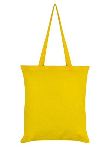 Borsa Tote Scaredy Cat 42 x 38 cm in giallo