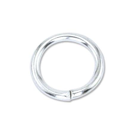 Beadalon 144-Piece 3-MM Jump Ring, Nickel Free Gold Plate 314A-002
