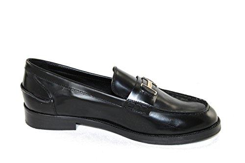 Braccialini Damen Schuhe Shoe Slipper Loafers 278AB schwarz